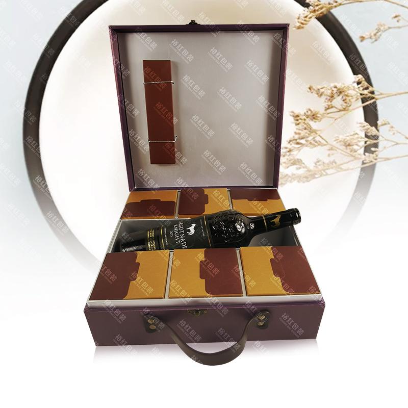 皮面月餅禮盒